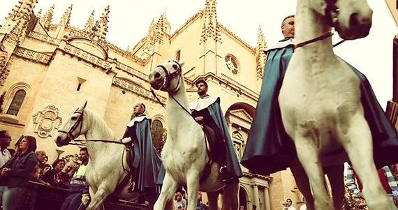 Vídeo promocional Semana Santa de Segovia Valsan Videography